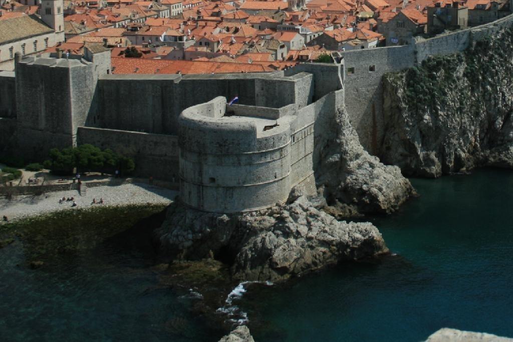 Dubrovnik Bokar Erőd