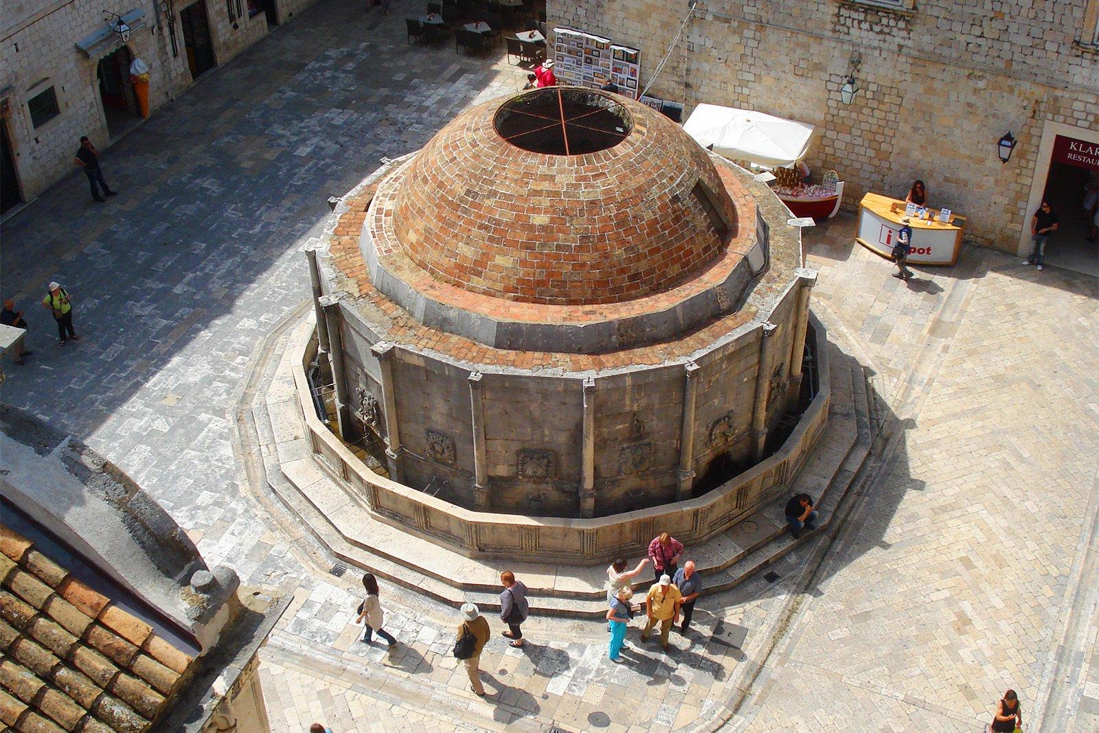 Dubrovnik Onofrio kut