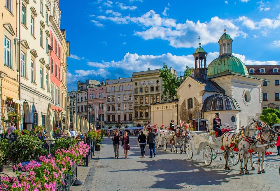 Krakkó óvárosa