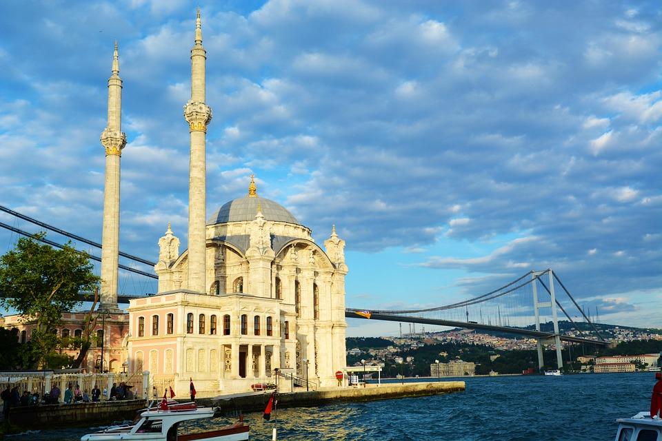 ortaköy mecset isztambul