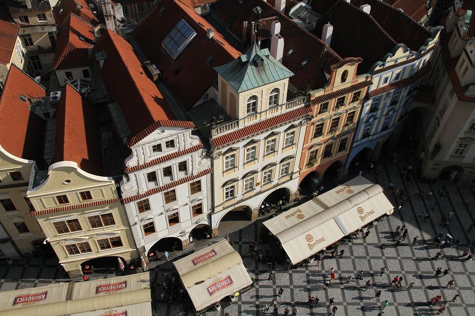 Prága óváros