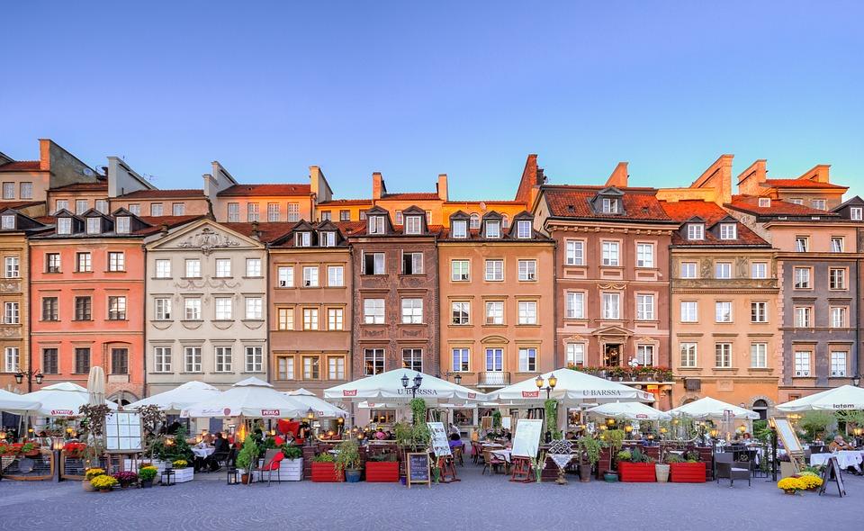 Varsó Főtér
