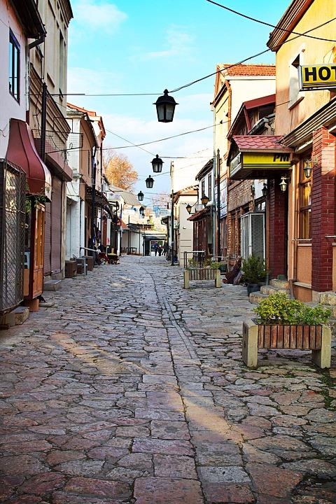 szkopje óváros