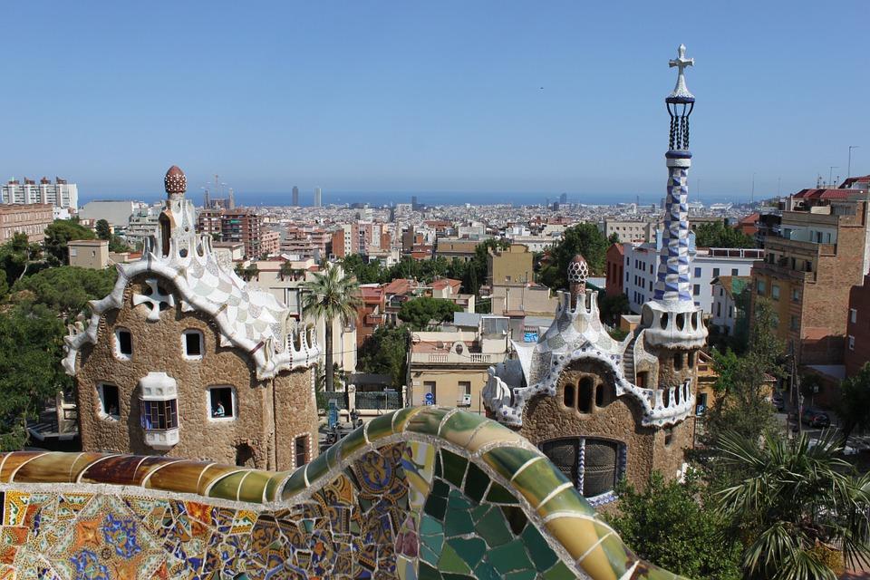 Güell park Barcelona