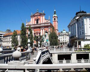 Ljubljana látnivalók