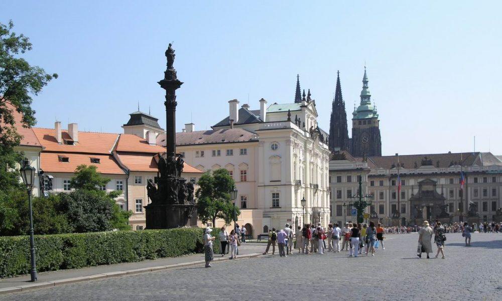 Prága Hradzsin tér - Hradcanské námesti