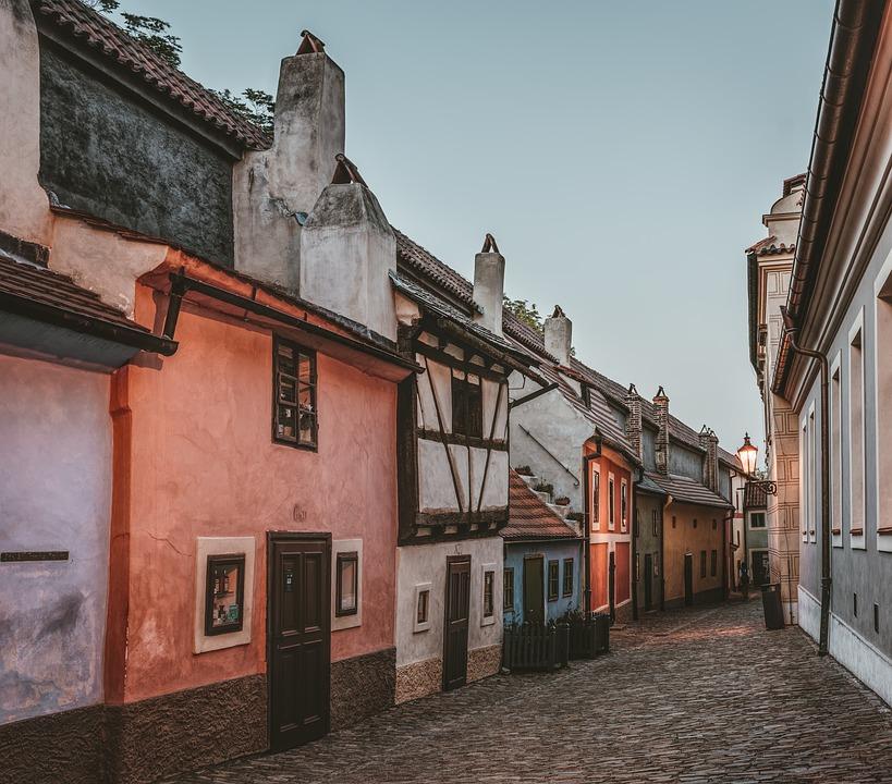 Prága Arany utcácska - Zlatá Ulicka
