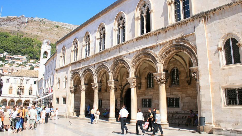 Dubrovnik Rektor palota