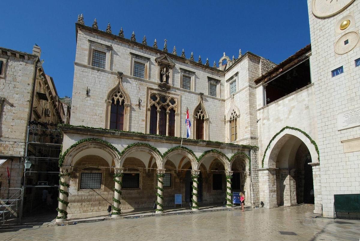 Dubrovnik Sponza Palota
