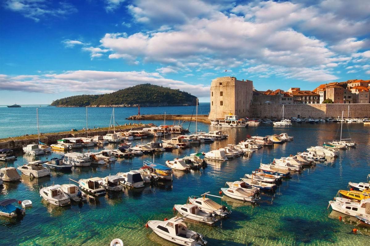 Dubrovnik régi kikötő
