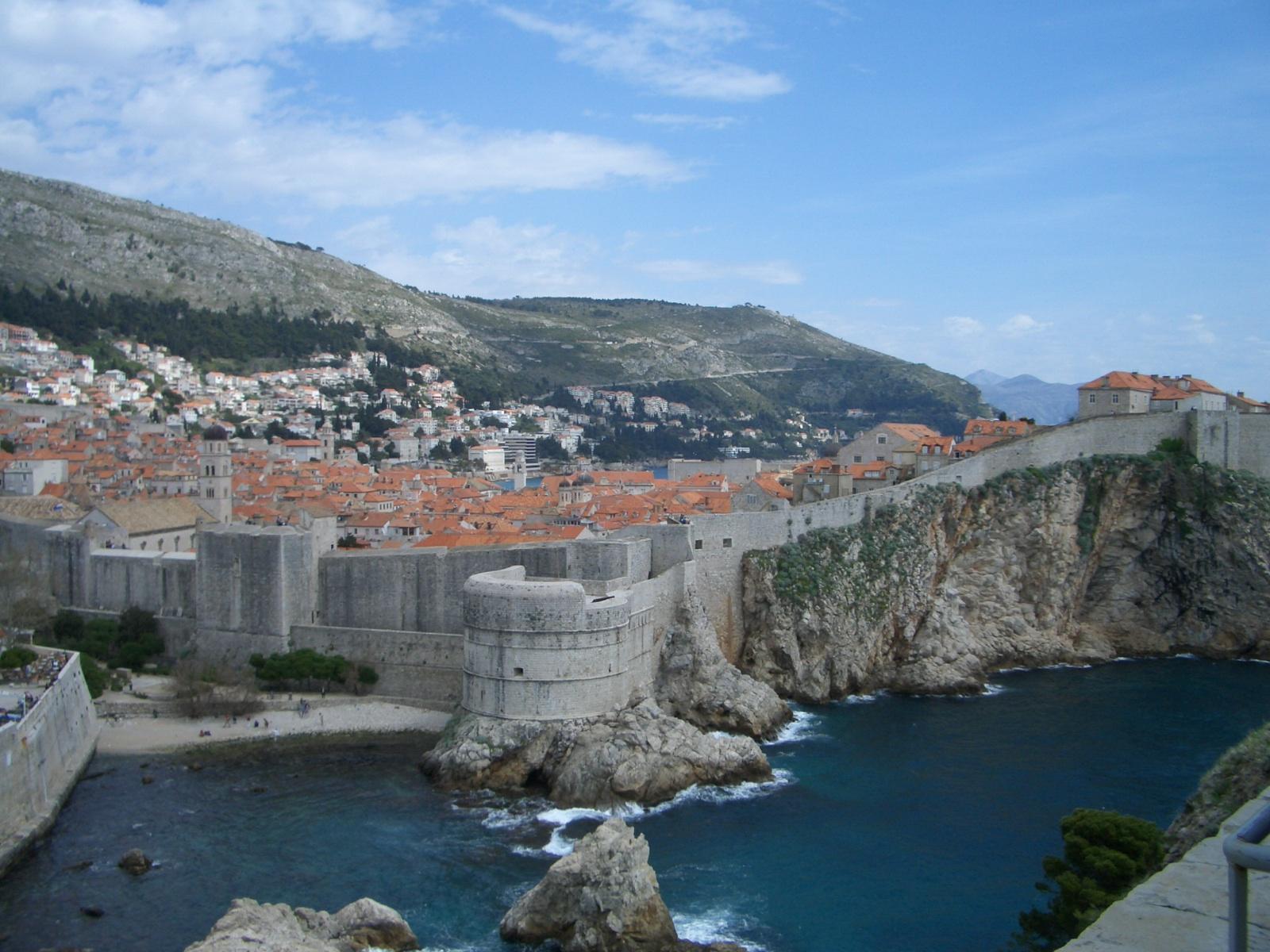 Dubrovnik városfal