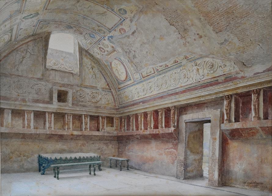Pompeii Terme Stabiane