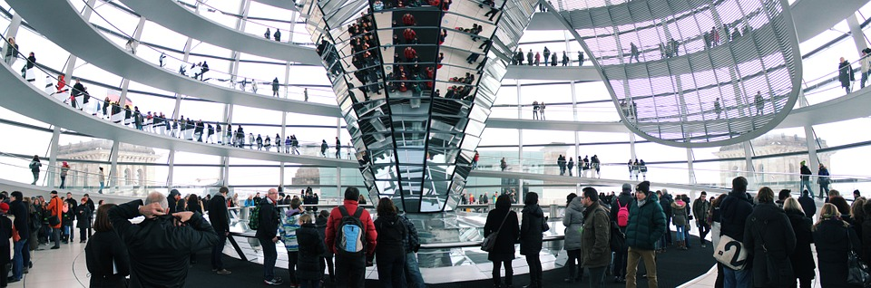 Reichstag üvegkupola