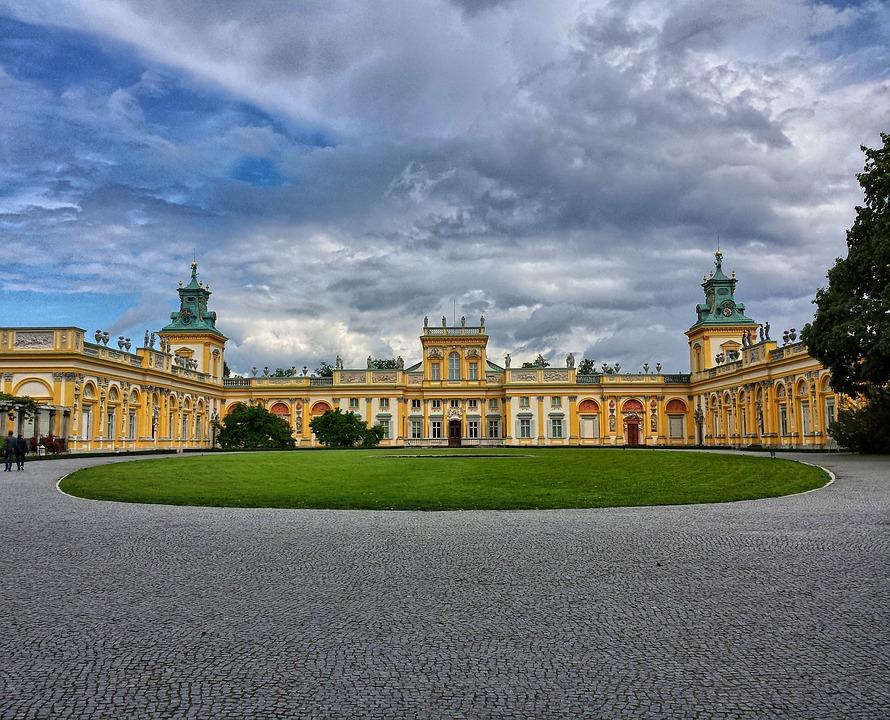Varso wilanow palota