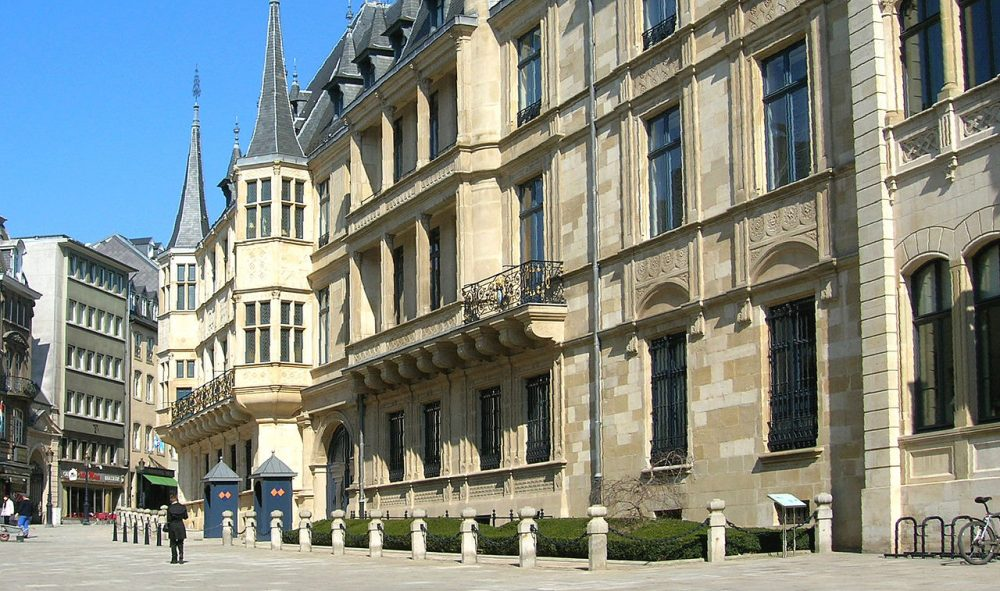 luxemburg nagyhercegi palota