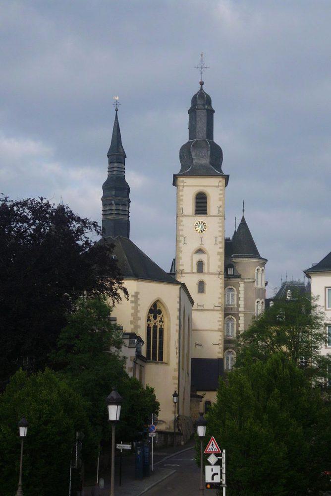 luxemburg szent mihaly templom