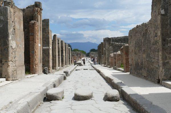 Pompeii romvárosa