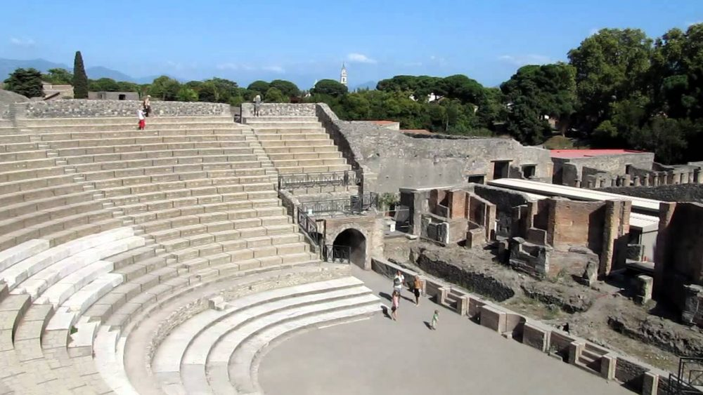 pompeii szinhaz