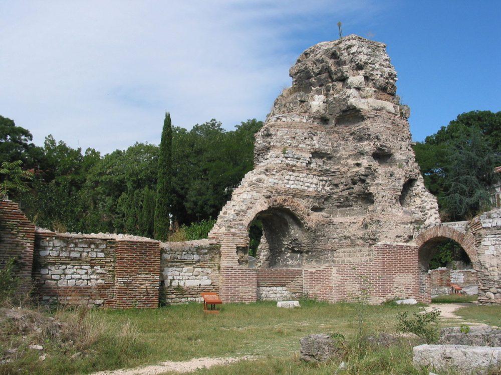 várna római fürdők romjai