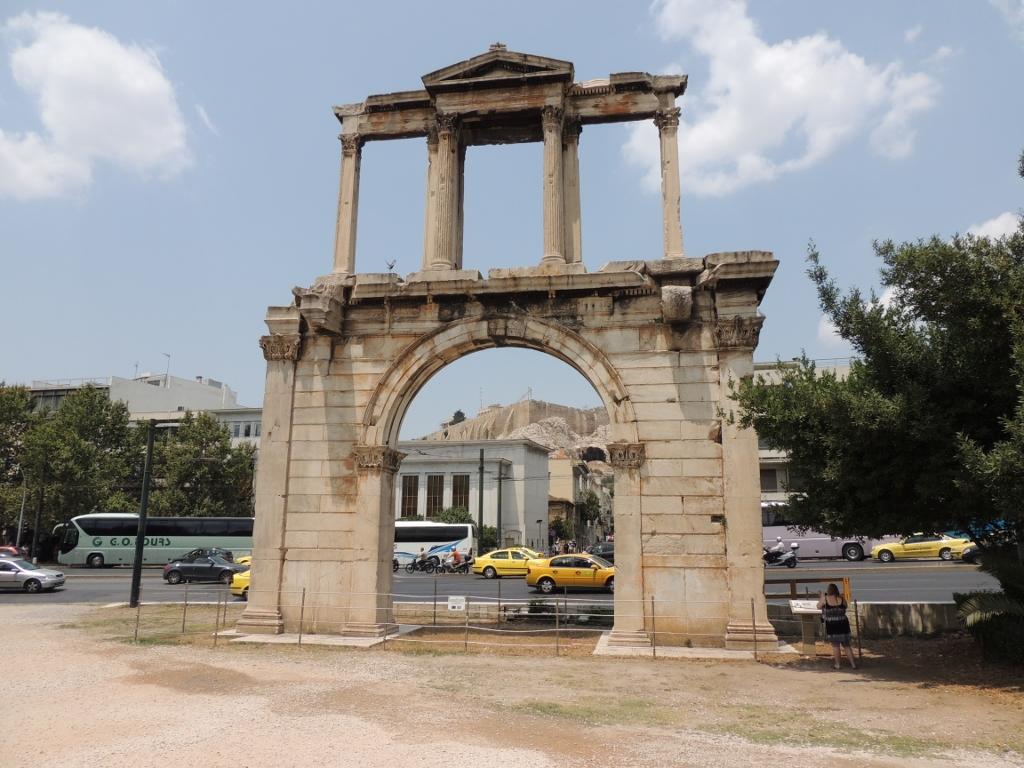 Athen Hadrianus diadaive