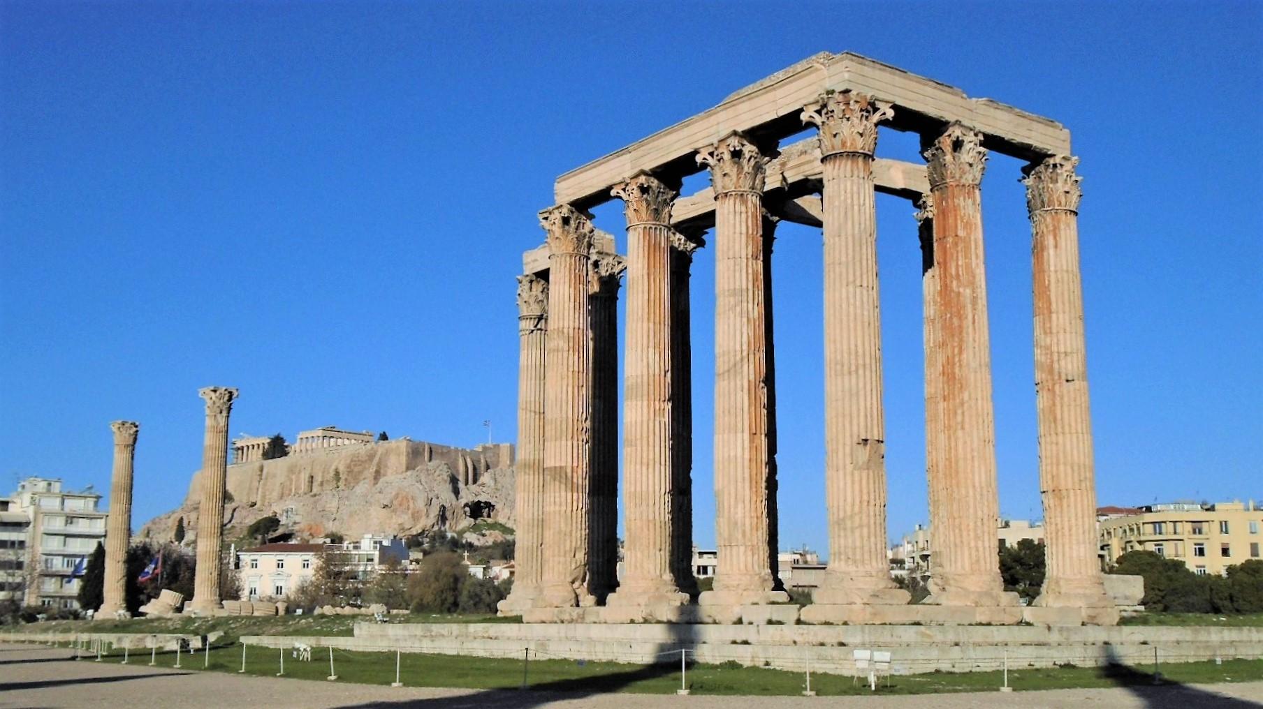Athén Zeusz temploma
