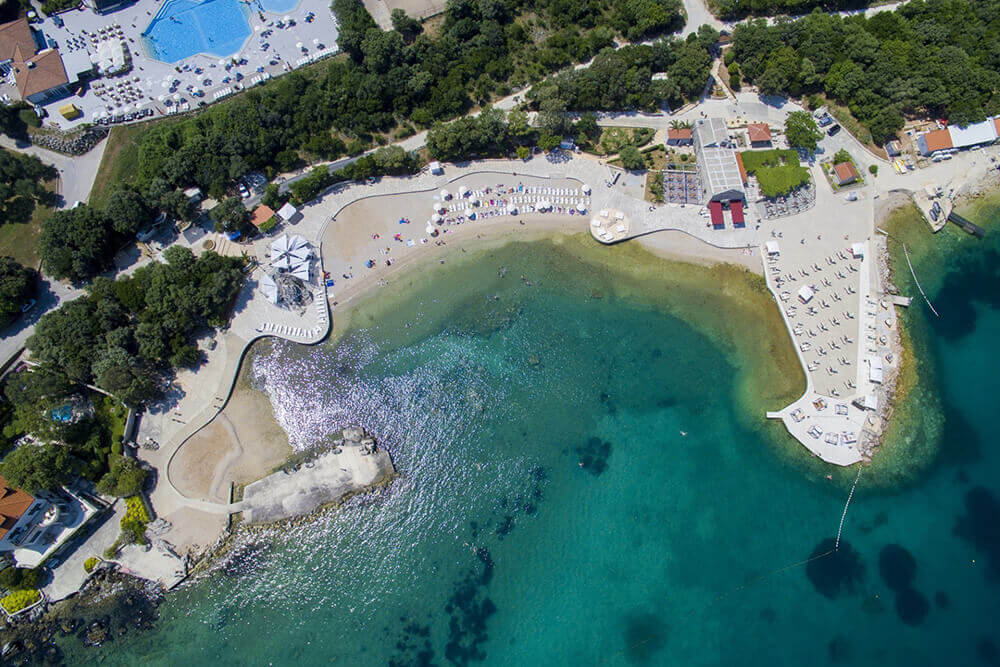 Dubrovnik Copacabana strand