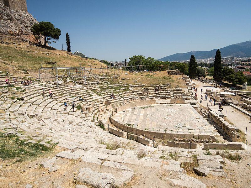 athen dionysus temploma es szinhaza