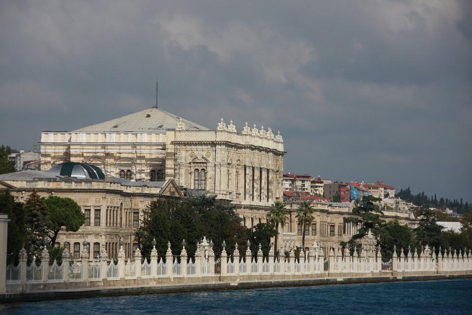 dolmabahce palota isztambul