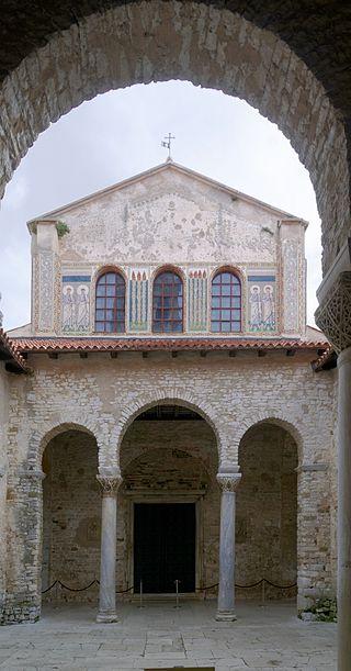 porec euphrasius bazilika