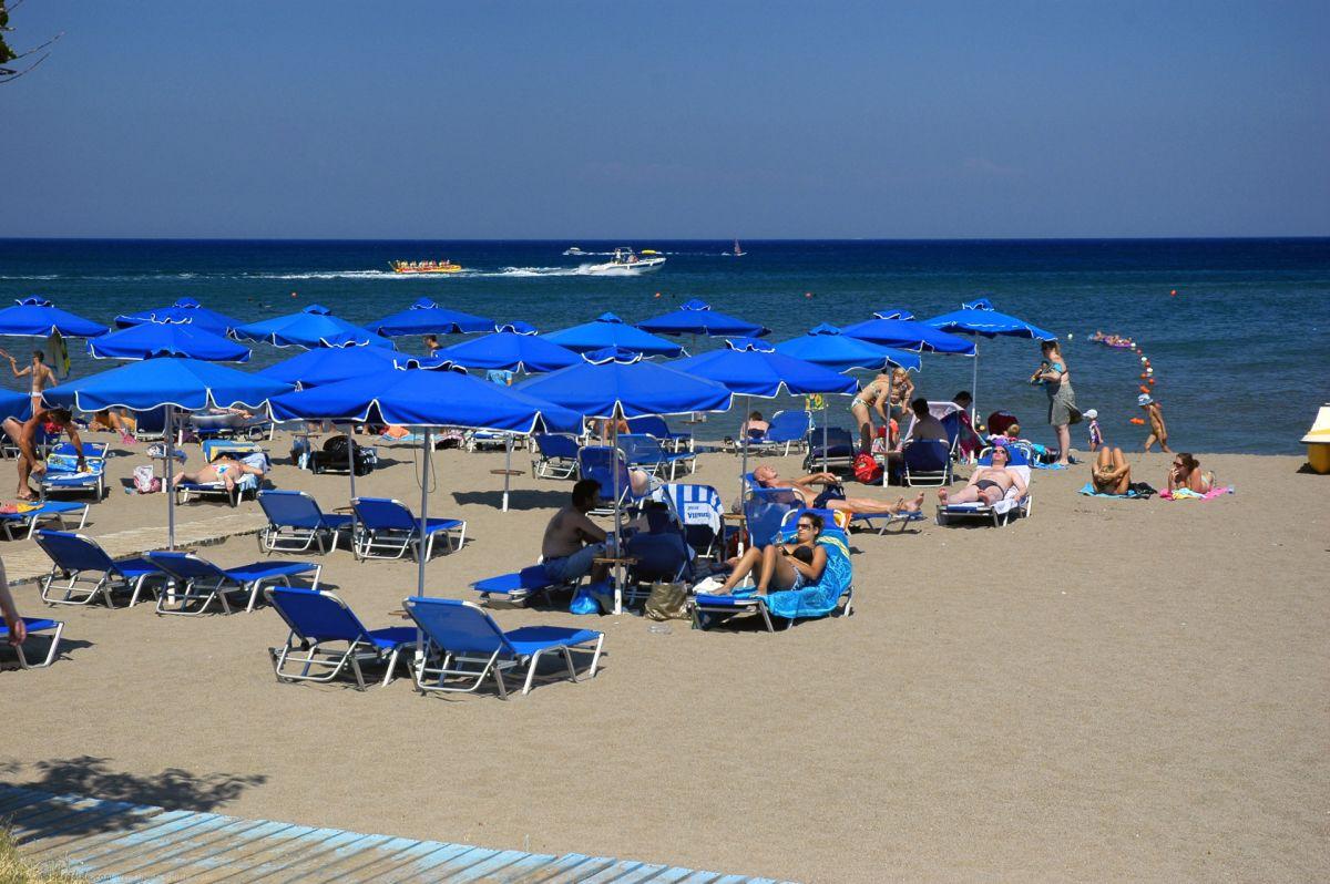 Faliraki strand