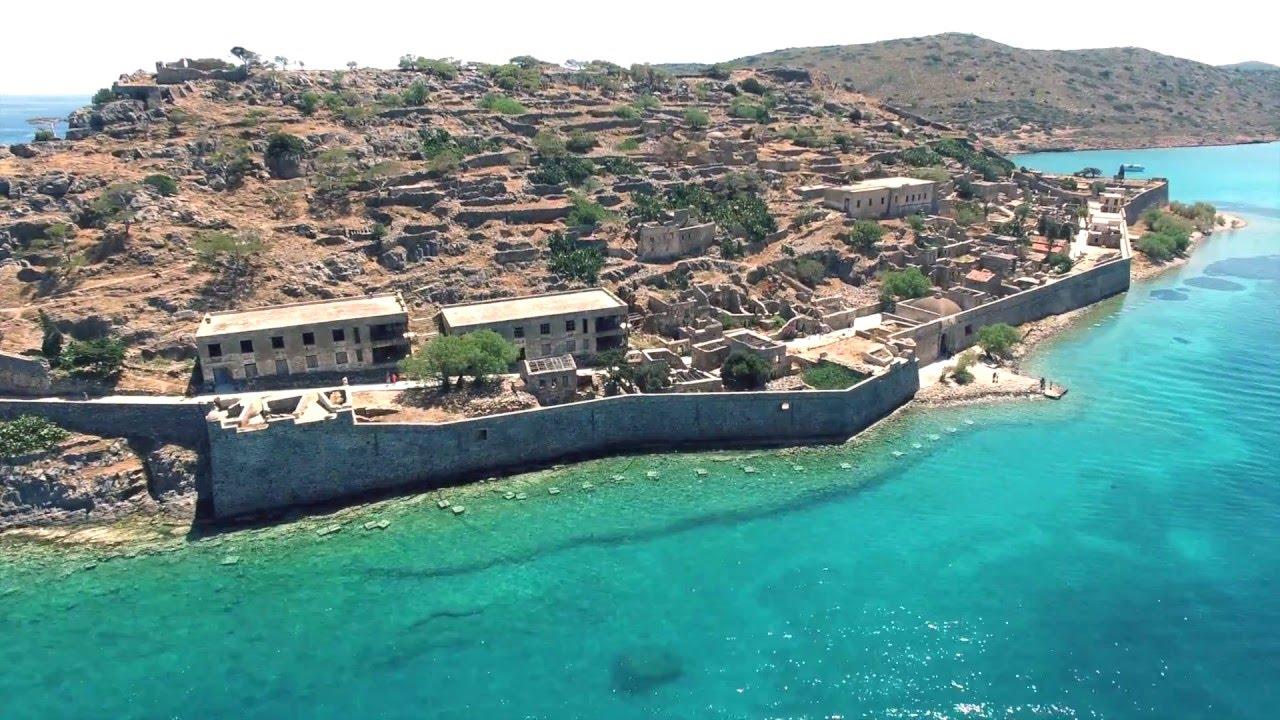 Spinalonga sziget