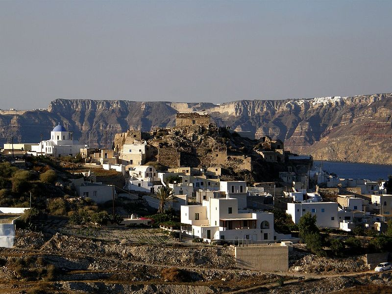 Akrotiri Santorini