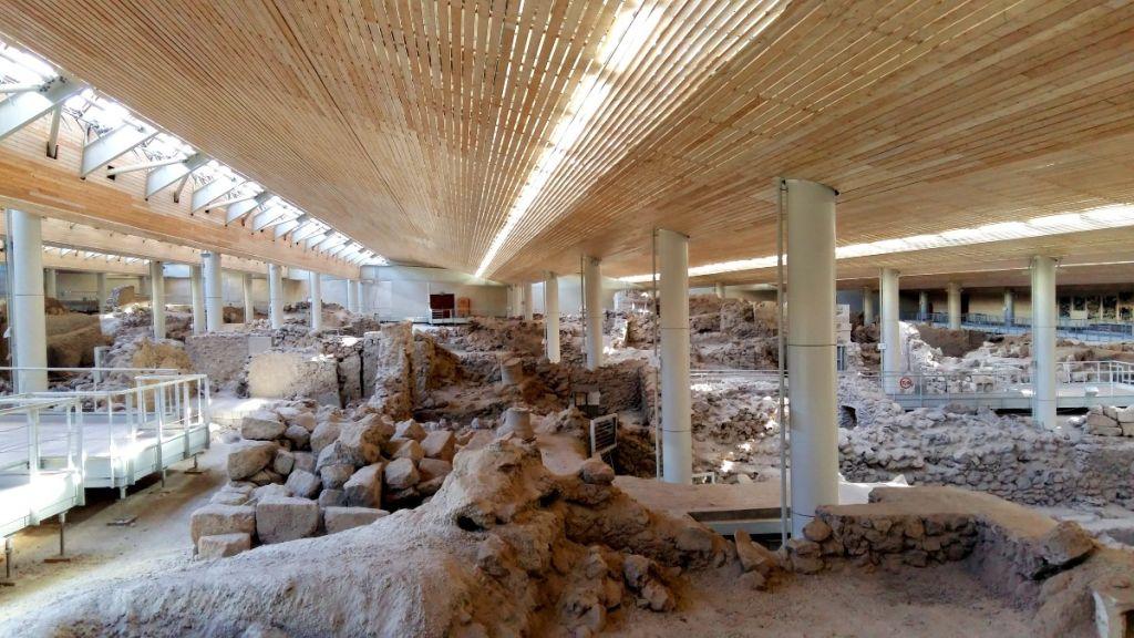 Akrotiri Régészeti lelőhely
