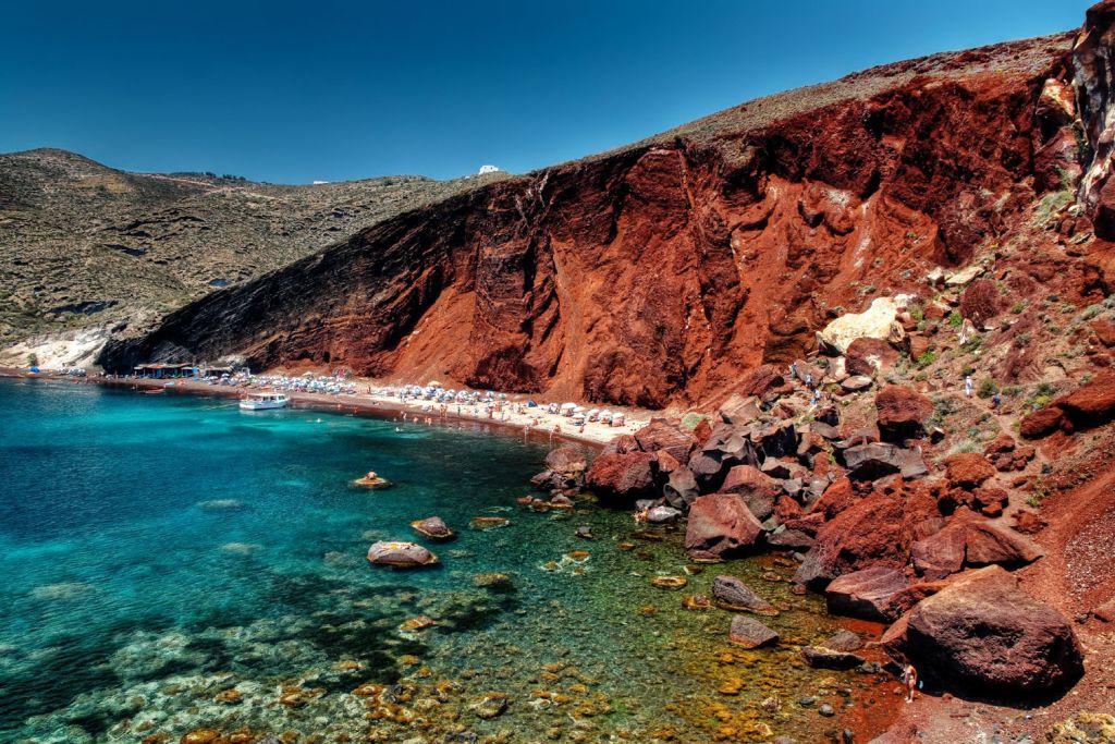 Akrotiri Red Beach