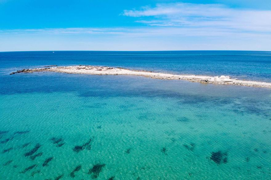 isztria strandok