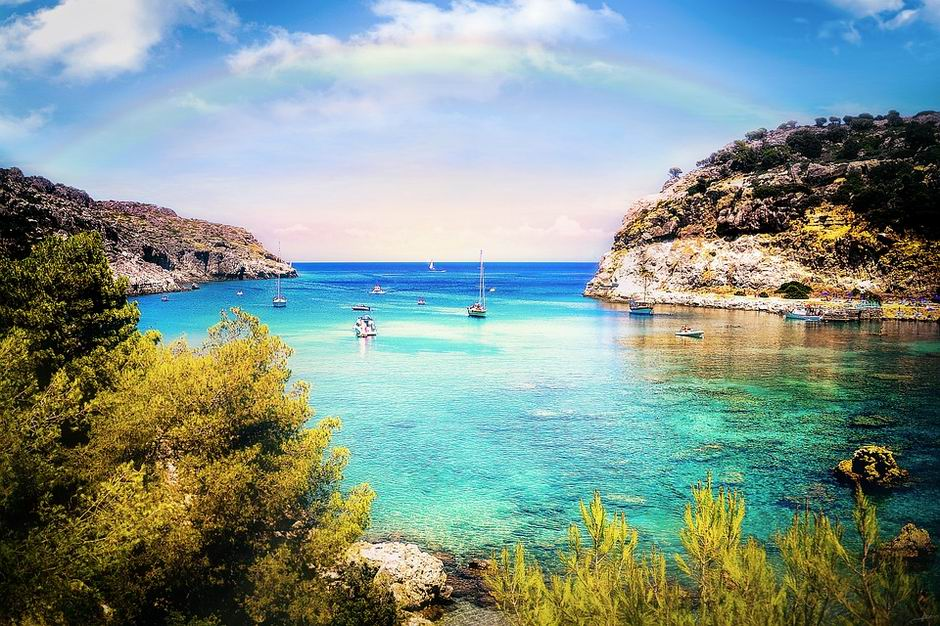 rodosz görögország