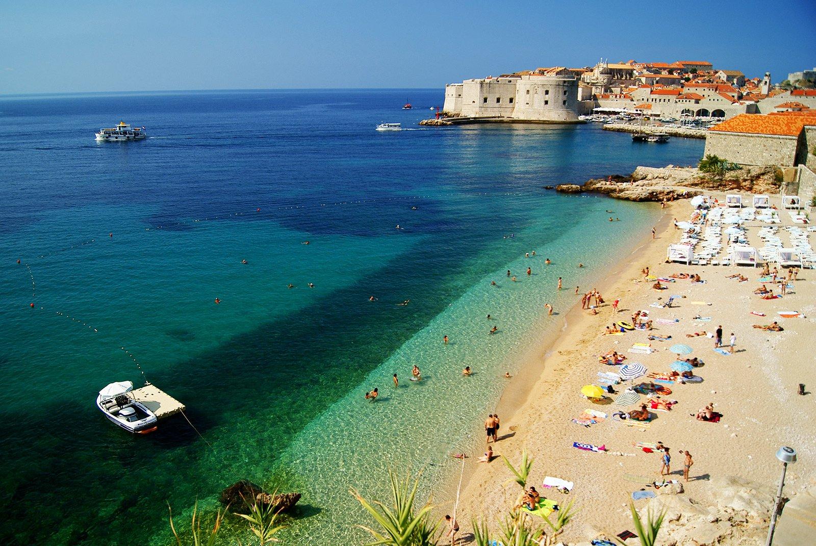 Dubrovnik Banje strand