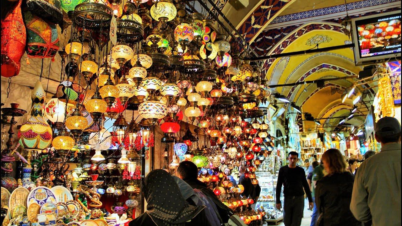isztambul nagy bazar