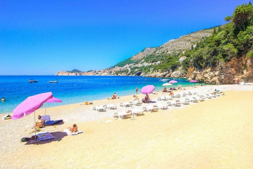Dubrovnik strandok