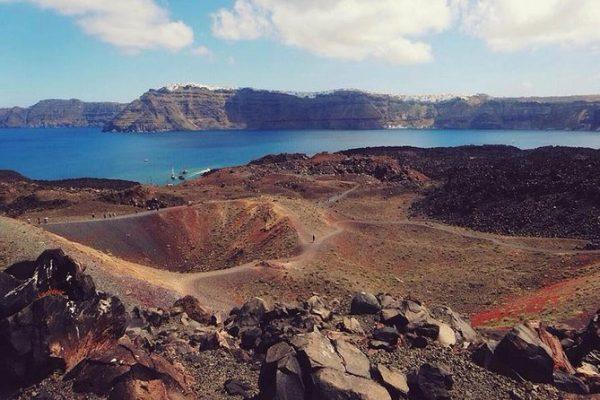 Santorini vulkántúra