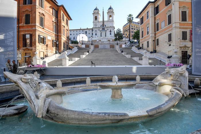 spanyol lépcső Róma
